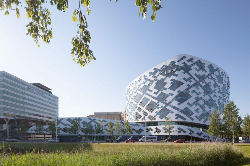 Mecanoo Hilton Schiphol