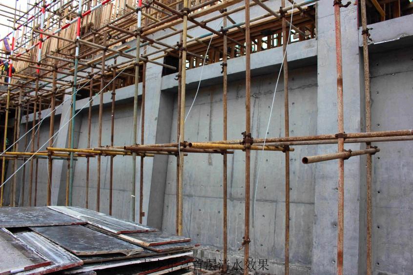 facade belt concrete framing youth centre Shenzhen
