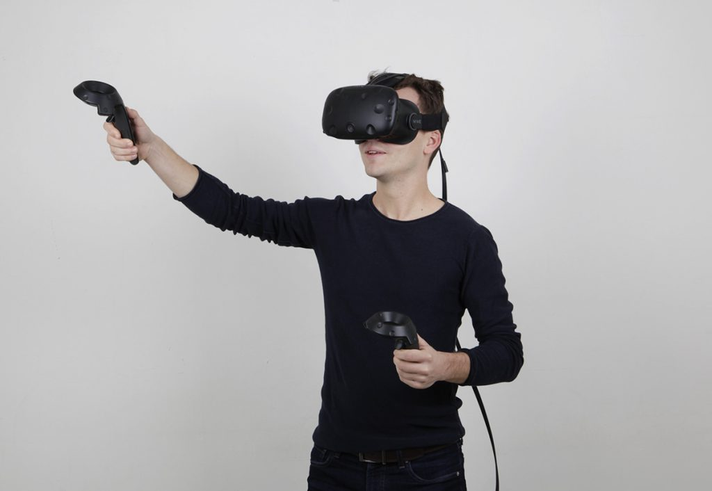 our mecanoo HTC Vive