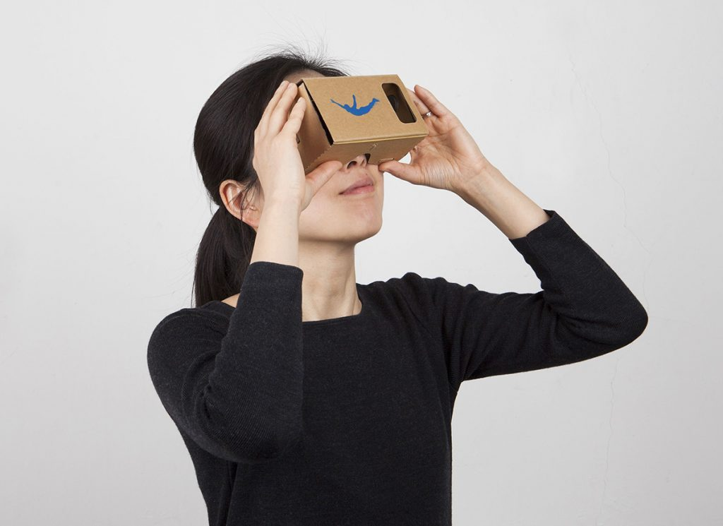 our mecanoo Cardboard viewer